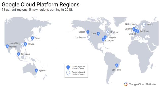 google cloud platforms infrastructure plans for 2018 google image