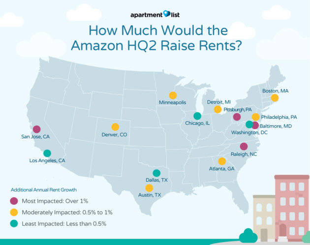 Amazon shortlists 20 sites for 2nd headquarters
