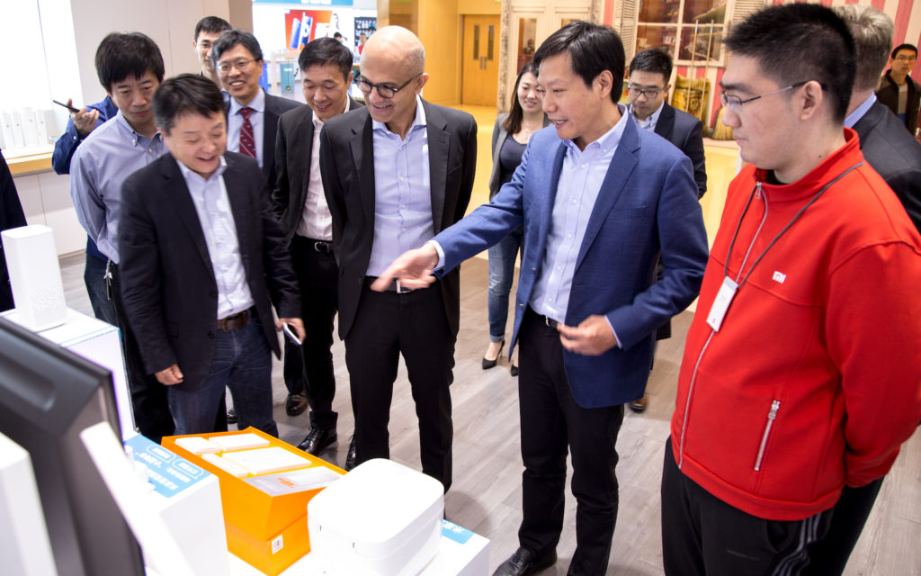 Microsoft, Xiaomi sign collaboration pact for AI, cloud computing services