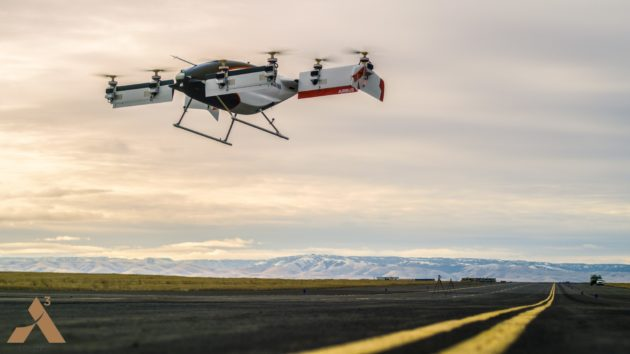 Airbus' flying taxi takes to the skies