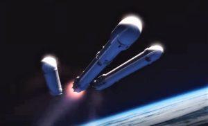 Falcon Heavy separation