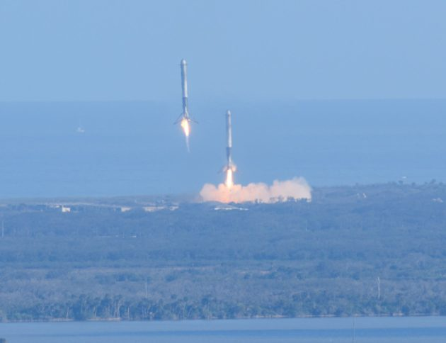 Rocket landings