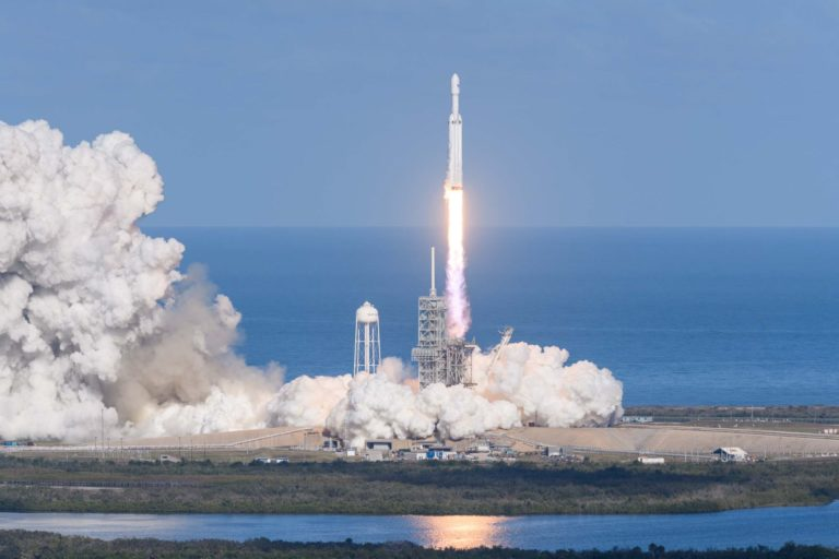 SpaceX's Crew Dragon spaceship makes maiden flight with robo-rider