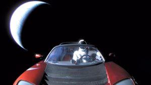 Starman in space Roadster