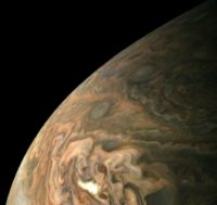 Jupiter as seen from Juno