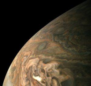 Jupiter as seen from Juno