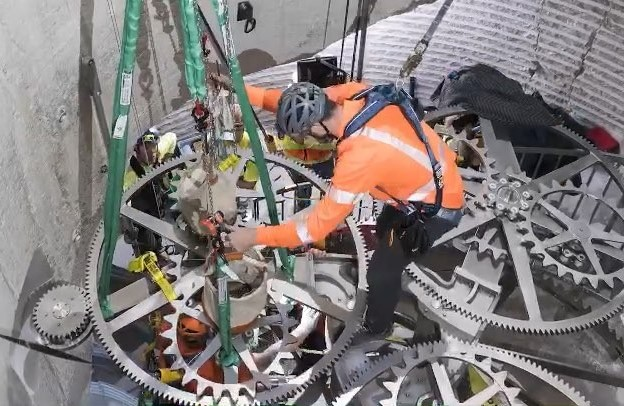 Jeff Bezos shares video of new 10000-year clock project