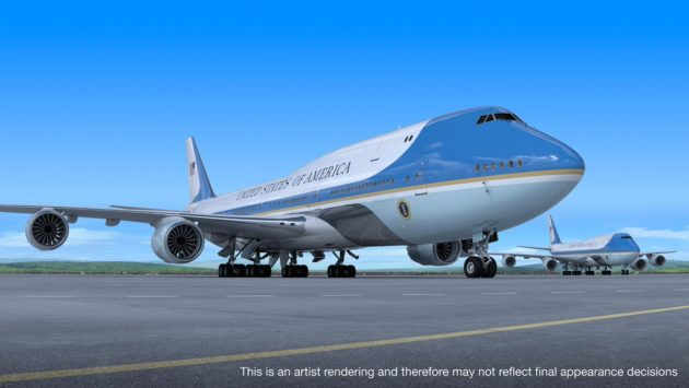 Air Force One illustration