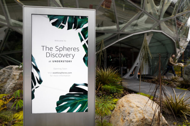 Visitor experience at Amazon's newly opened Spheres leaves