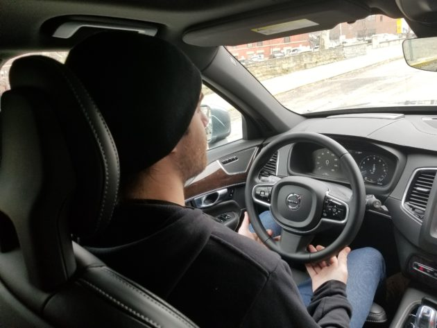 Each Uber Self Driving Ride Requires An Operator In The Front Seat Who Is Ready To Take Over When Technology Doesnt Suffice
