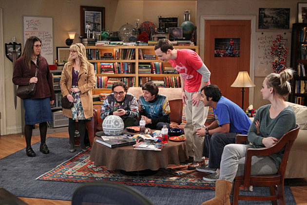 "The Big Bang Theory season 7 episode ""The Proton Transmogrification."""