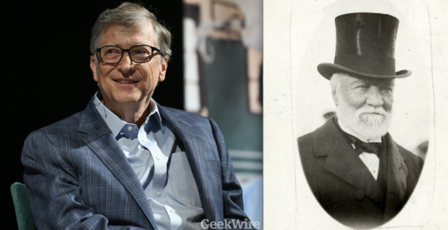 How Andrew Carnegie Set The Stage For Bill Gates To Give Away His