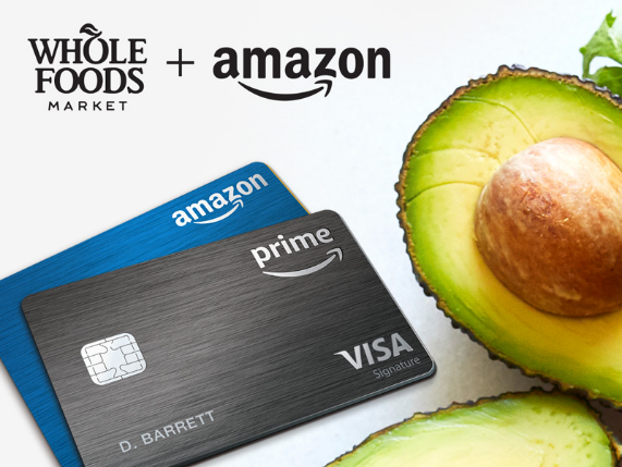 Amazon Extends 5 Back Prime Credit Card Benefits To Whole Foods