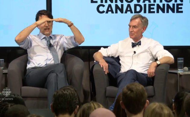 Trudeau and Nye