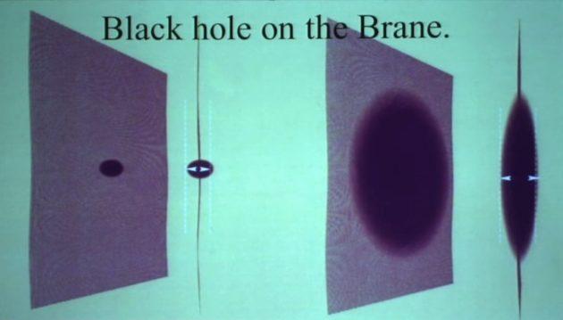 Black holes on the brane
