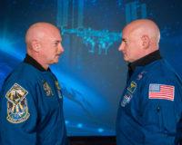 Mark and Scott Kelly
