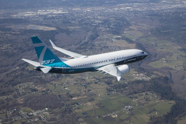 Boeing's 737 MAX 7 jet aces first flight