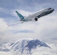 Boeing and Mount Rainier