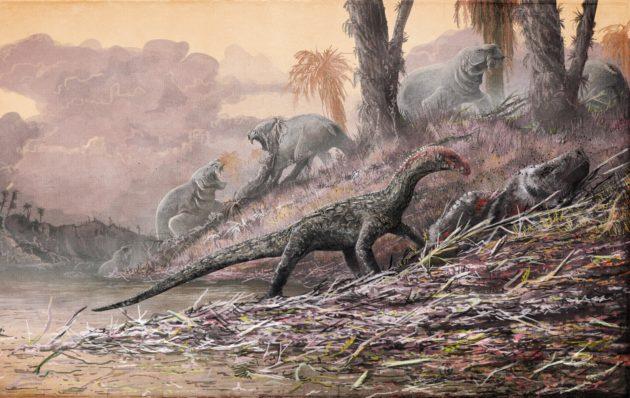 Triassic scene