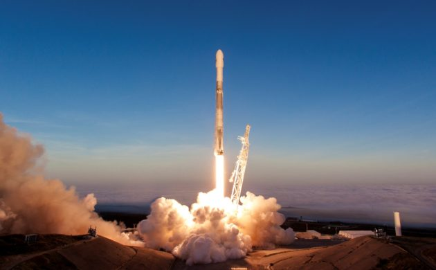 SpaceX Falcon 9 rocket launches fifth batch of Iridium ...