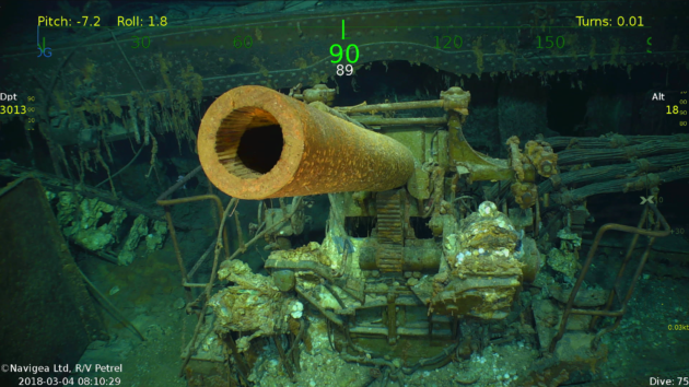 Microsoft co-founder finds lost World War II aircraft carrier near Australia