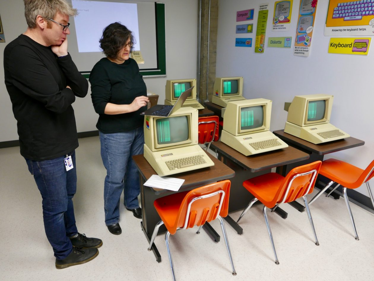 Radical Classroom Design ~ When technology was totally radical dream of the s