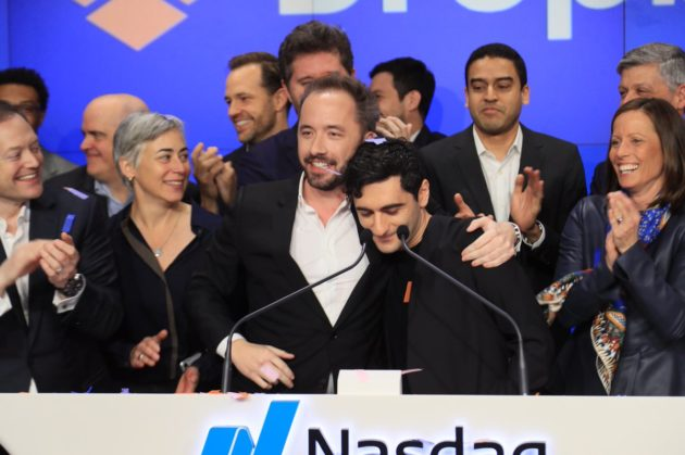 Dropbox shares soar in biggest tech IPO debut since Snap