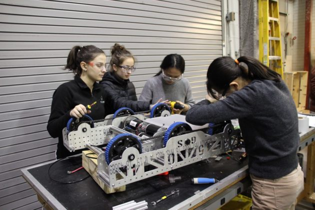 Meet The Girls Of Steel This Badass Robotics Team At Carnegie