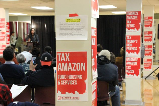 Amazon and Microsoft back proposed business tax in breakthrough for fight against homelessness