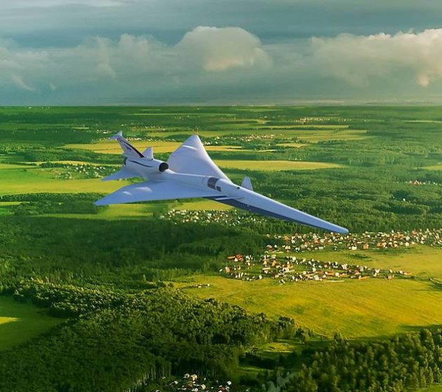 NASA set to build quiet supersonic planes