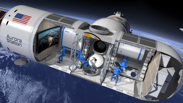 Online reservation for space hotel starts, pay $800000 per night