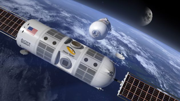 Plans under way for first hotel in space by 2021
