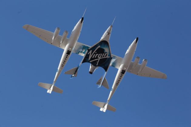 Space `tantalisingly close´ after test flight - Branson