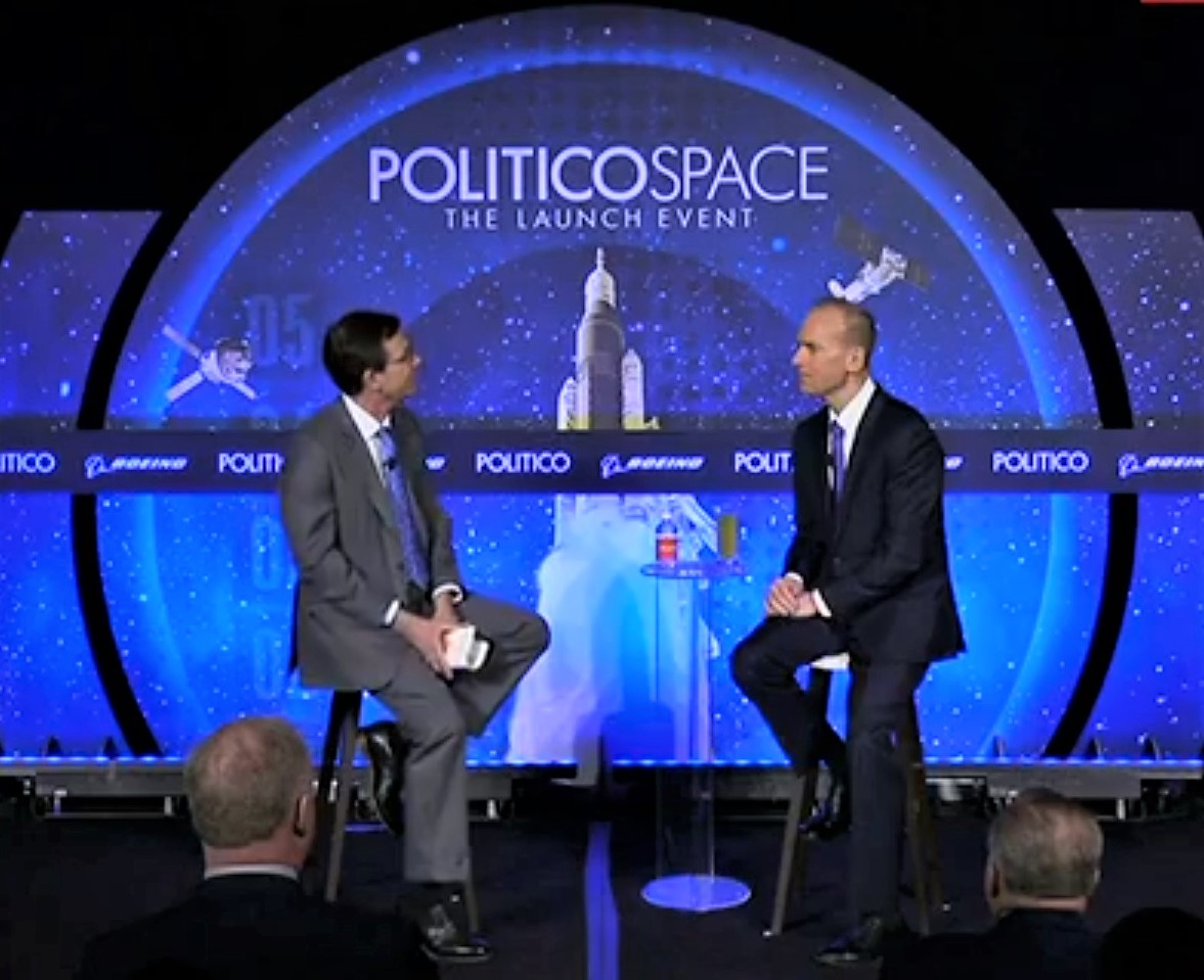 Boeing CEO Dennis Muilenburg says that humans could get to Mars within a decade*
