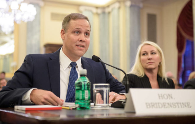 Jim Bridenstine Confirmed to Lead NASA