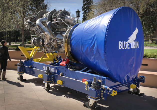 Lockheed-Boeing venture chooses rocket engine developed by Bezos' Blue Origin