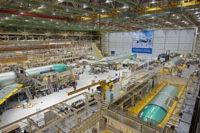Boeing 767s under construction