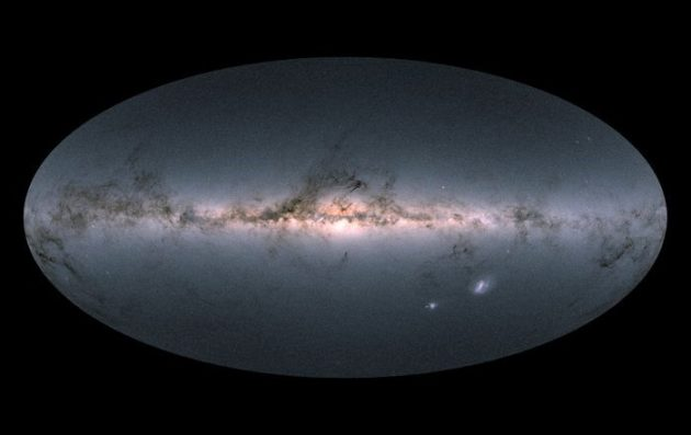 Gaia full-sky map