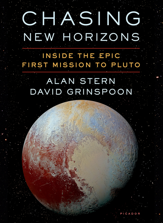 """Chasing New Horizons"" cover"