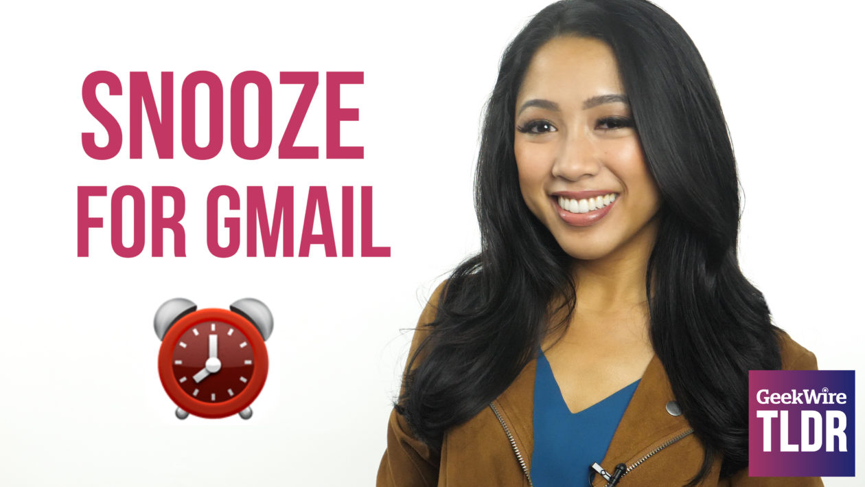 TLDR: Gmail lets you press snooze on emails, new ...