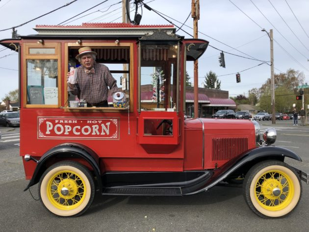 Is This The Coolest Food Truck In Seattle 1931 Model A Pops Popcorn