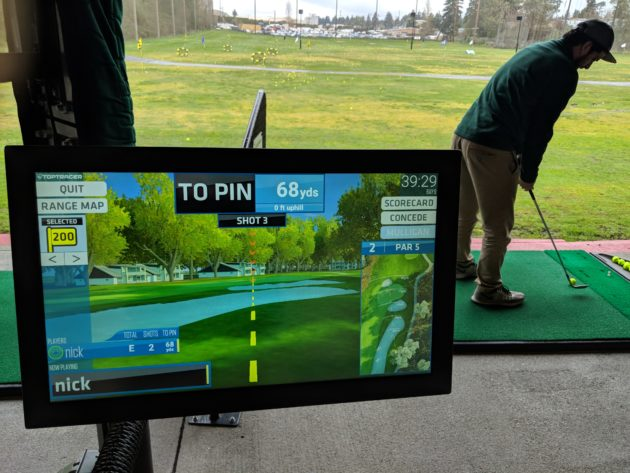 Testing Out Toptracer At The Driving Range We Took A Swing Topgolf S Latest Ball Tracking Technology
