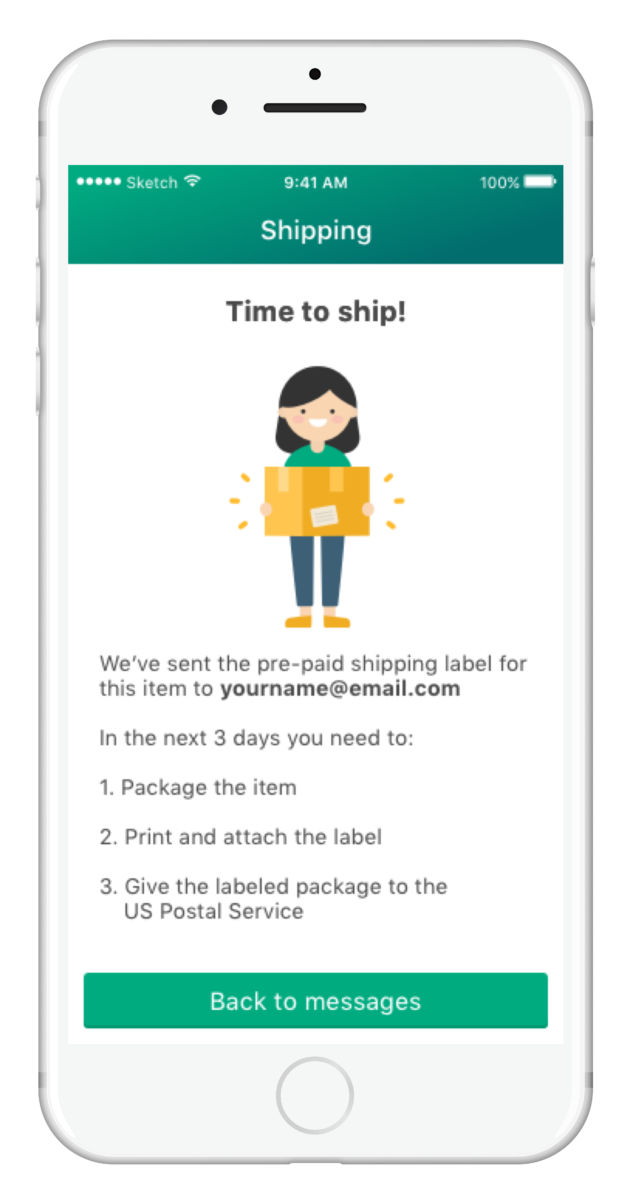 Offerup Amps Up Marketplace Battle With Ebay And Craigslist Adds New U S Shipping Feature Geekwire