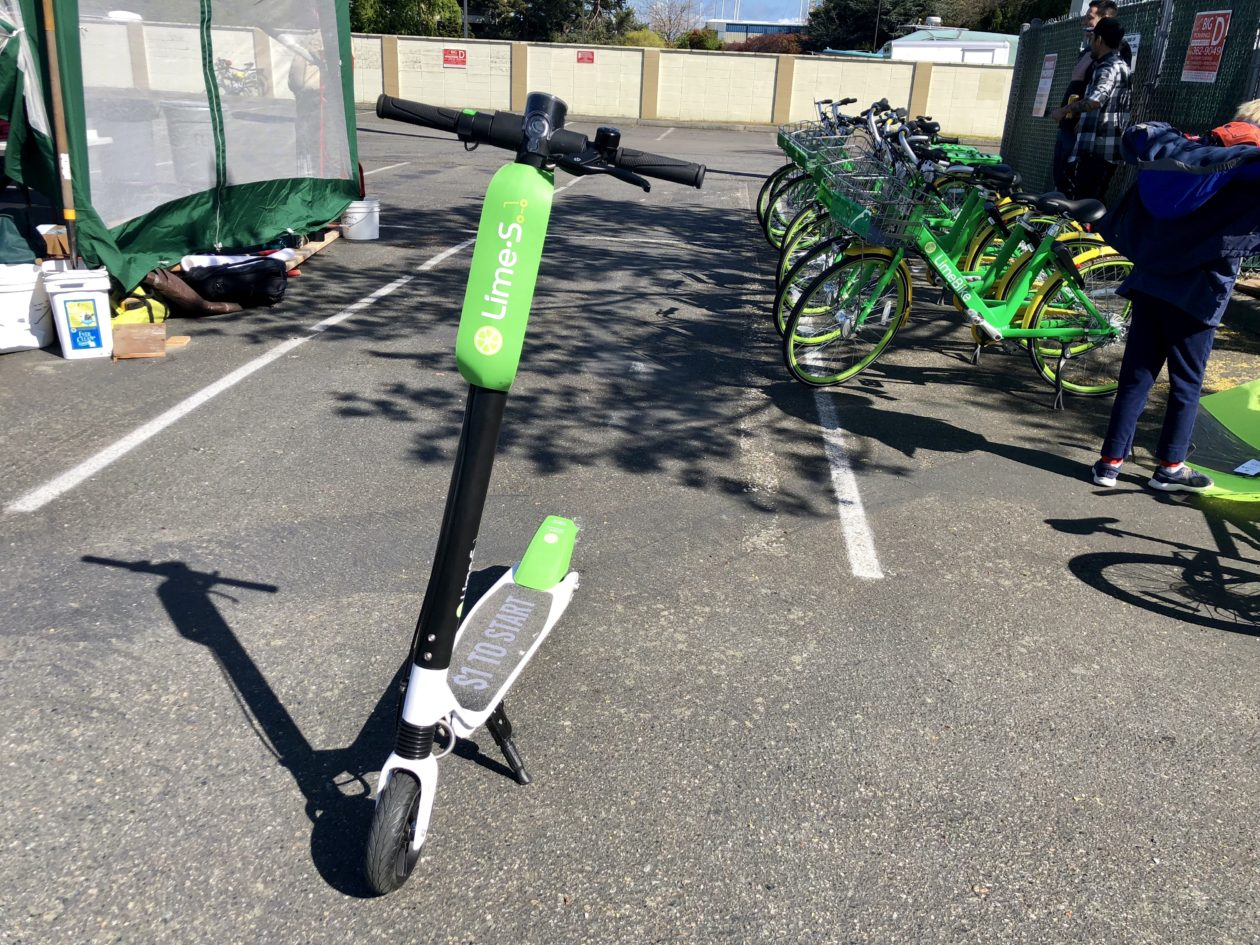 lime launching scooter and e bike pilot in tacoma while. Black Bedroom Furniture Sets. Home Design Ideas