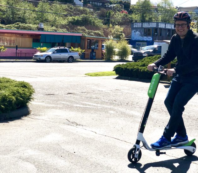 Testing LimeBike's scooter in Seattle: New era for transportation
