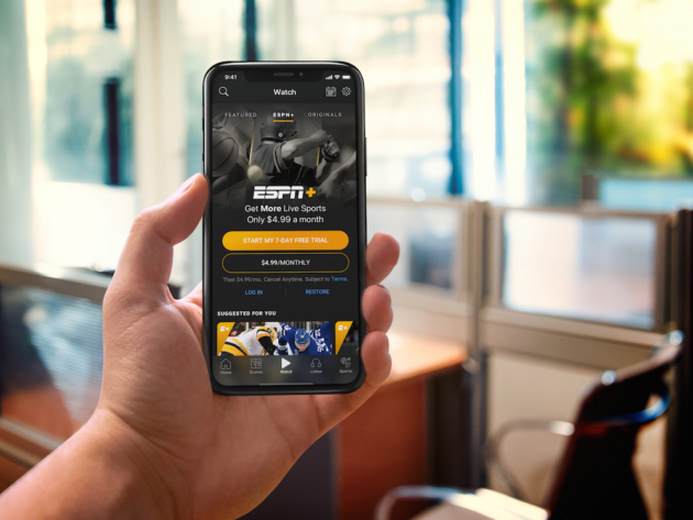 Disney Debuts ESPN+ Streaming Sports Service