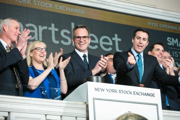 Smartsheet prices IPO high at $15, raising $150 million