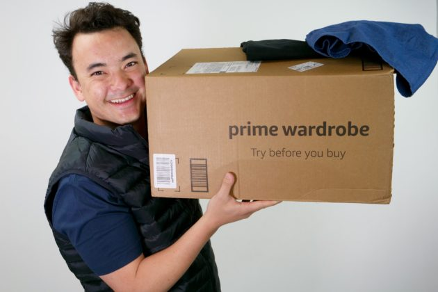 ea4c42dfc7 My latest adventure  testing Amazon s Prime Wardrobe service. Wearing a  cotton short sleeve collared shirt by Goodthreads ( 25)  and a lightweight  packable ...