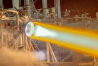 RL-10 engine test