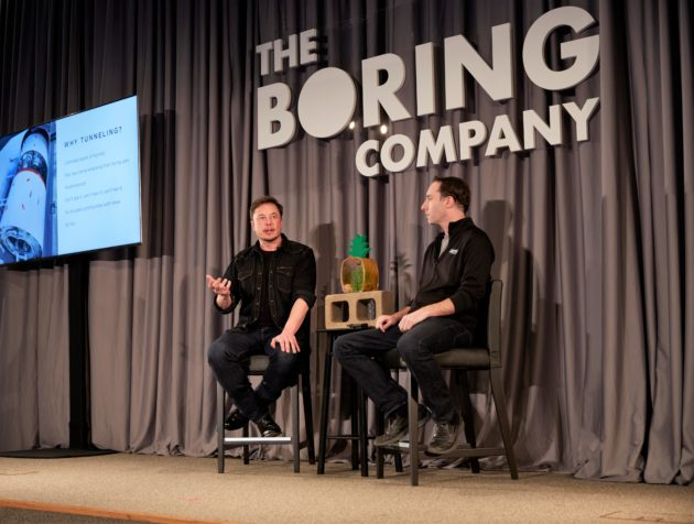 Boring Company founder Elon Musk proposes 150 miles per hour tunnel rides for $1